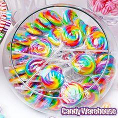 YumJunkie Rainbow Candy Buffet