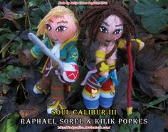 Soul Calibur - Raphael and Kilik Popkes