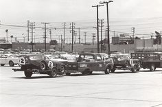 Shelby Daytona Coupes at Shelby plant