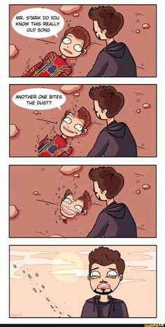 Picture memes by MarvelBoii: comments - iFunny :) another one bites the dust Infinity War Avengers film comics comic books comic book movies Marvel comics 2018 Avengers Humor, Marvel Jokes, Funny Marvel Memes, Dc Memes, Funny Comics, Funny Memes, Sad Comics, Memes Humor, Funny Videos