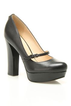 Guess Mary Jane Pumps In Black -