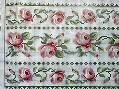 1 million+ Stunning Free Images to Use Anywhere Cross Stitch Books, Cross Stitch Borders, Cross Stitch Rose, Cross Stitch Flowers, Cross Stitching, Cross Stitch Embroidery, Hand Embroidery, Cross Stitch Patterns, Beading Patterns