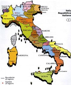 Map of italy showing cities free large images travel pinterest map of republic of italy planetware altavistaventures Image collections