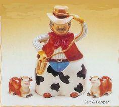 Cowboy Cookie Jars