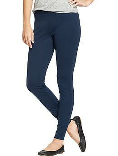 Old Navy  Women's Ankle-Zip Ponte-Knit Pants