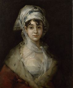 Francisco José de Goya y Lucientes (1746–1828) - Portrait of the Actress Antonia Zárate, c 1810–11 - El Hermitage trae a Ámsterdam el Siglo de Oro español - 20minutos.es