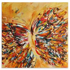 Victoria Horkan BUTTERFLY SERIES 8, Oil on canvas  SO BEAUTIFUL!