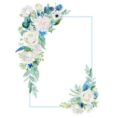 Floral Wallpaper Phone, Flower Background Wallpaper, Flower Backgrounds, Wallpaper Backgrounds, Plant Wallpaper, Frame Floral, Flower Frame, Stock Design, Wedding Cards