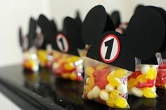 Mickey favor bags!