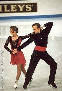 Susanna Rahkamo ja Petri Kokko, euroopan mestarit 1994, Copenhagen Denmark