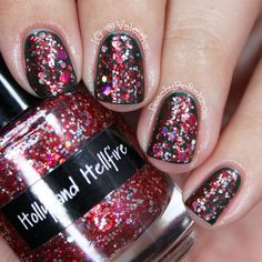 """CrowsToes: Holiday 2012 Collection """"Holly and Hellfire"""""""