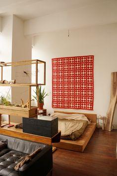 My Brooklyn Home Loft Living, Loft, Room Divider, Furniture, Living Memory, Bookshelves, Home Decor