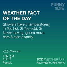 Check out the Funny Or Die Weather App. Real Weather, Real Funny. http://fodweather.com