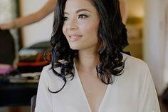 Carissa's glowing natural bridal makeup - wedding makeup Sunshine Coast