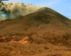 Volcán Momotombo no cesa actividad