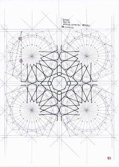Bou057 #islamicpattern #islamicdesign #islamicart #arabiangeometry #symmetry #geometry #pattern #handmade #escher #mathart #regolo54