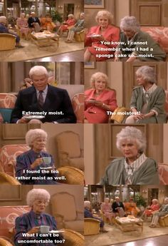the golden girls, one of my favorite scenes