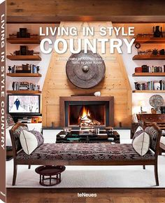 Explore some of the world's most stunning country homes in a stylish new book