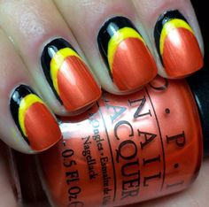 Nails by an OPI Addict: Oriole Nails!