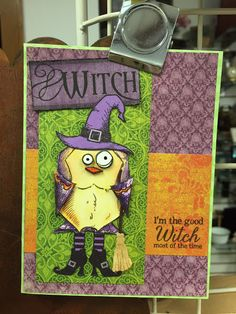 Buffalo Stamps & Stuff.  (Pin#1: Halloween: Witches... Pin+: Crazy Birds).