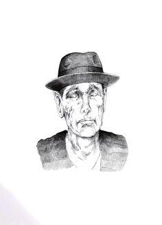 Joseph Beuys in ständiger Angst um seine Fettecke