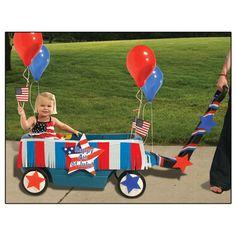 Patriotic Wagon Decorating Kit
