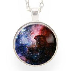 Carina Nebula Necklace by CellsDividing