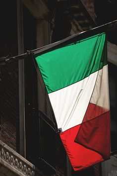 italian flag.  Ha.  Between the Irish and the Italian blood it is a wonder I get my red hair and green eyes. No wonder I have a lovely temperament. Lol