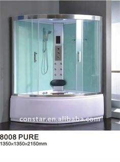 Big Size Steam Shower With Jacuzzi (8008) , Find Complete Details about Big Size Steam Shower With Jacuzzi (8008),Shower Room,Steam Shower Room,Shower Cabin from Shower Rooms Supplier or Manufacturer-Hangzhou Constar Sanitary Ware Co., Ltd.