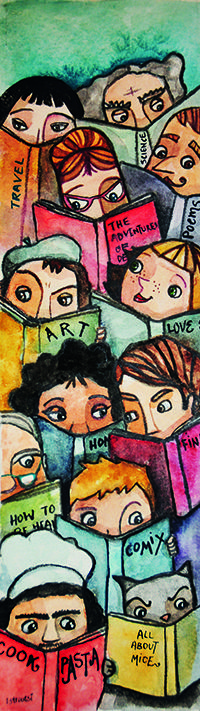 DesertRose~for the love of reading~By Lela Stroutsi