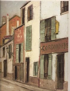 BUILDINGS by Maurice Utrillo