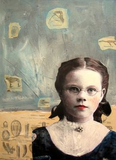 My Ephemeral Imagination: Mixed Media Portrait class now available!