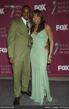 Duane Martin and Tisha Campbell