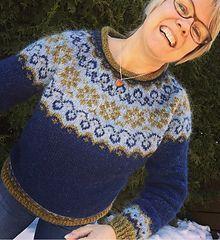 Ravelry: Sundrops / Solgløtt pattern by Vanja Blix Langsrud Ravelry, Language, Chart, Knitting, Pattern, Sweaters, Women, Fashion, Tops