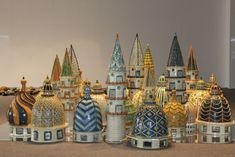 Cupole e minareti dell'artista-ceramista di Caltagirone, Giacomo Alessi.