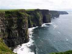 Ireland, Cliffs of Moher - one of the most beautiful places I have ever seen! Also can be so windy you can barely stand up. Oh The Places You'll Go, Great Places, Places To Travel, Beautiful Places, Places To Visit, Travel Destinations, Beautiful Castles, Beautiful Scenery, Holiday Destinations