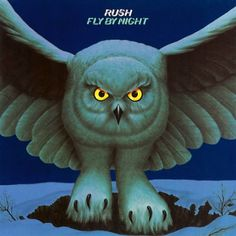 2 - Rush - Fly by Night  The second studio album by the Canadian rock band, released in February 1975 and the first Rush album to feature drummer Neil Peart.  The autobiographical title track is based on Peart's experience of briefly moving from Canada to London as a young musician (before joining Rush).  A classic if there ever was one and essential to any collection of records!