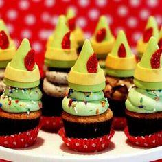 Ben Elf cupcakes
