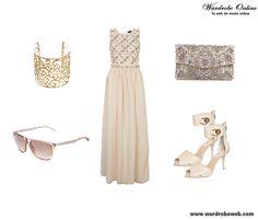 Buenos días!! Hoy una propuesta romántica y soñadora http://wardrobeweb.com/wardrobe-saturday-cream/  feliz sábado chic@s!! #moda #fashion #dress