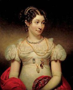 Portrait of Wilhelmina Jacoba van Pembroek by Charles Howard Hodges (1820). Collection of the Frans Hals Museum.