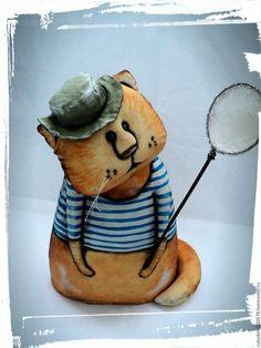 Игрушки животные, ручной работы. Ярмарка Мастеров - ручная работа. Купить Кот Василий!. Handmade. Рыжий, игрушка, купить кота