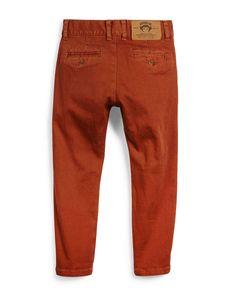 Bushwick Stretch-Twill Pants, Gingerbread, Size 4-14