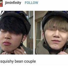 YoonMin || BTS Suga & Jimin || Bangtan Boys Min Yoongi & Park Jimin
