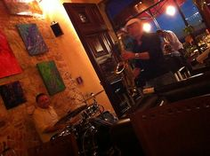 "#Montepulciano, #Tuscany. Summer 2012, Live #Jazz at ""E lucevan le stelle"" Wine Bar and Bistro"