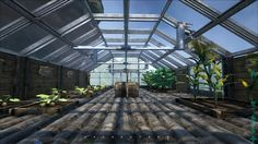 Ark Survival Evolved, greenhouse built for plants, great crafting idea for your base. Ark Survival Evolved Tips, Game Ark, Small Greenhouse, Greenhouse Ideas, Fort Ideas, Conan Exiles, Terraria, Building Ideas, Chilling
