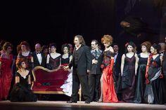 Prima de La Traviata di Giuseppe Verdi, diretta dal Maestro Zubin Mehta con l'Orchesta ed il Coro del Maggio Musicale Fiorentino - 1 aprile 2015 - Stagione 2014-15. Foto © Simone Donati / Terraproject / Contrasto