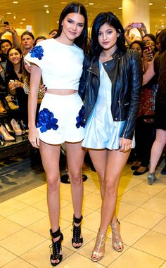 Kendall and Kylie Jenner look summer chic in these gorgeous looks!