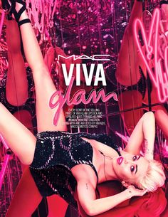 Miley Cyrus is the new face of Viva Glam. Photo: Courtesy of MAC. What a difference a year makes for Miley Cyrus. Last year, she was coming off her controversial, twerktastic performance at the 2013 MTV Video Music Awards. Mac Viva Glam, Viva Glam Mac Lipstick, Hot Pink Lipsticks, Lipgloss, Miley Cyrus Name, Rihanna, Mac Collection, New Mac, Beauty News