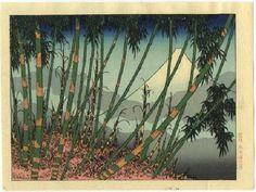 Hiroshi Yoshida - Mont Fuji
