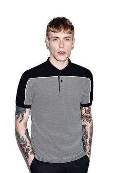 Fred Perry - Marshall Amplification Bluesbreaker Fret Cloth Shirt Black